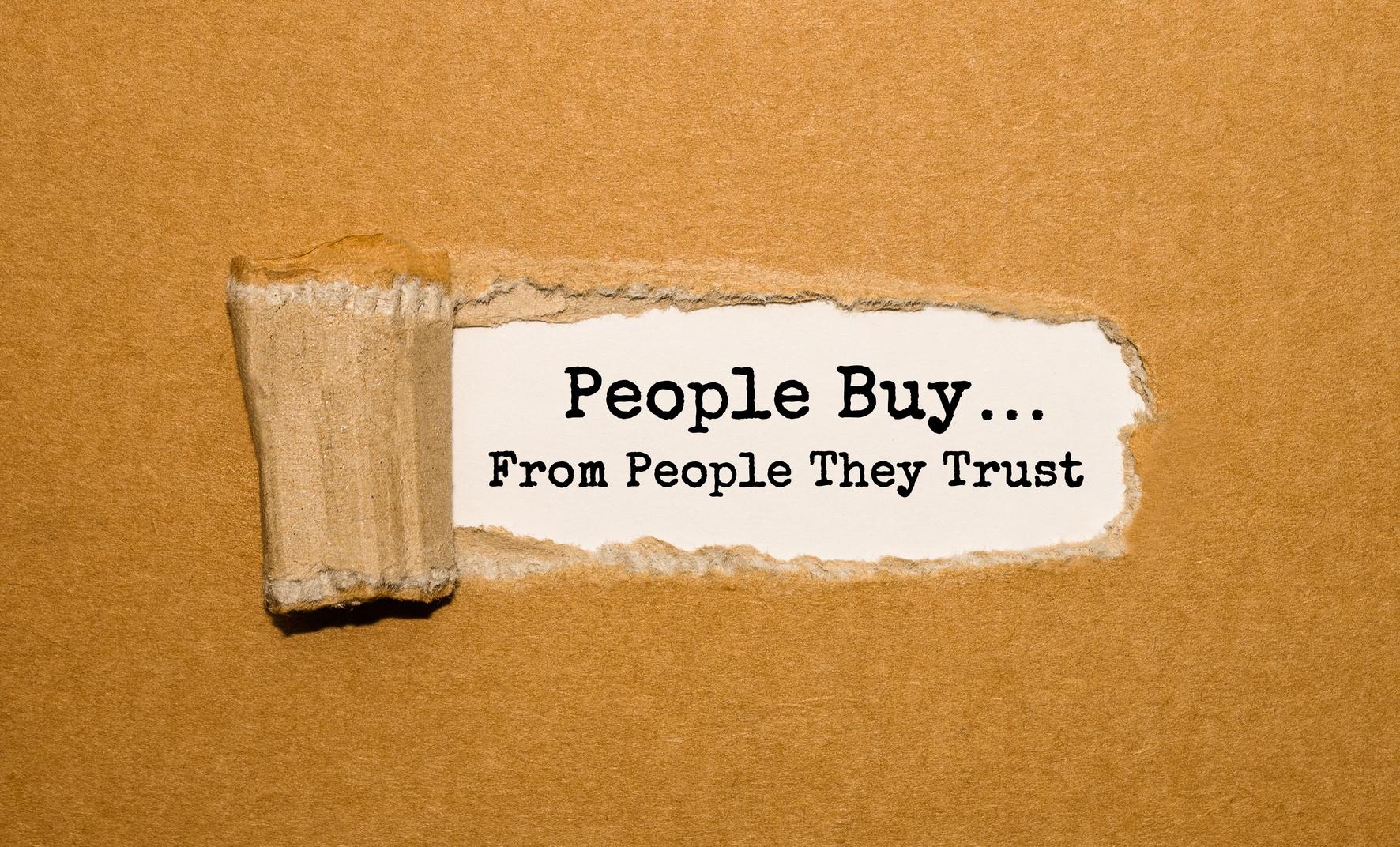 comment garder la confiances des clients