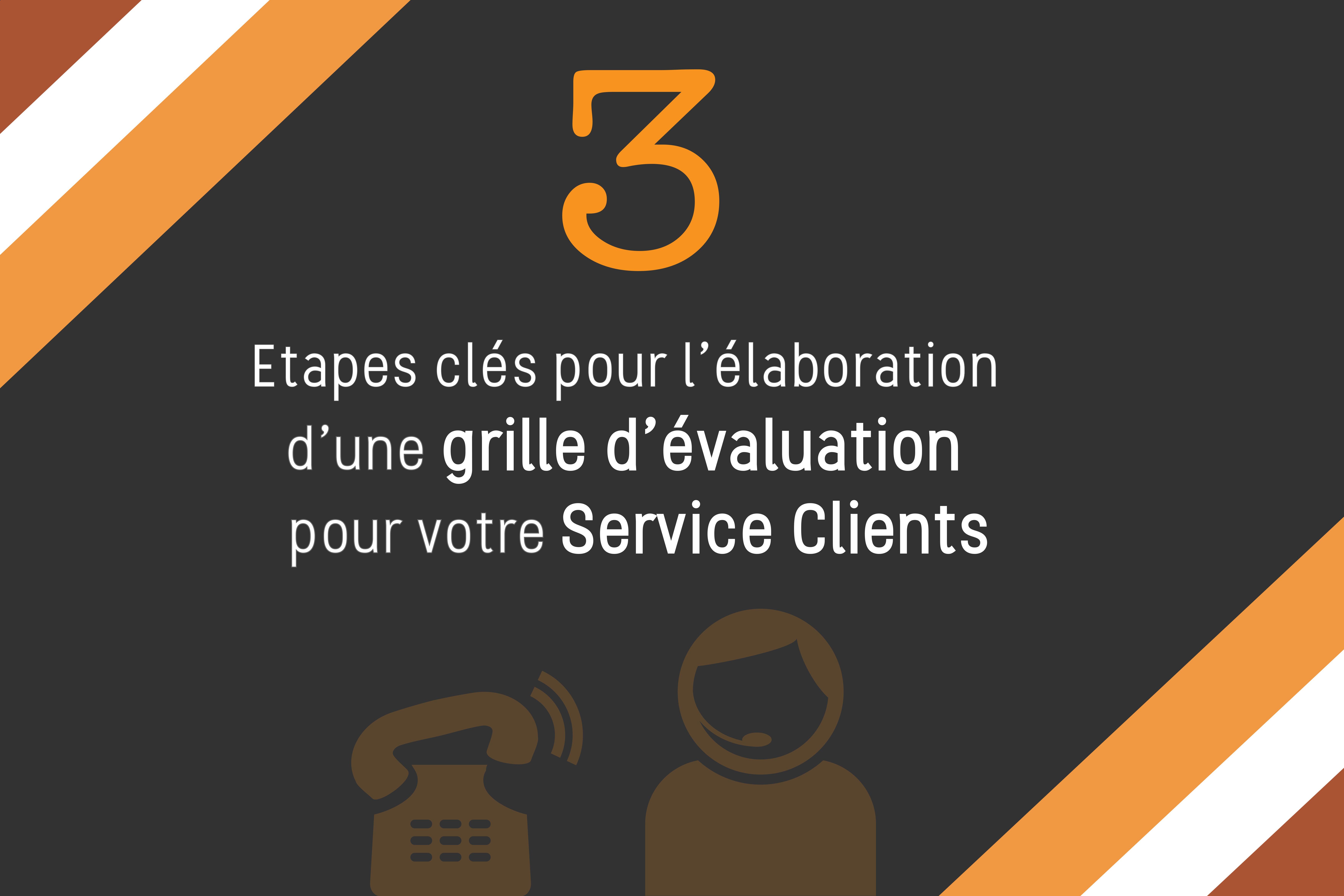 3 étapes pour élaborer une grille d'évaluation d'un Service Clients