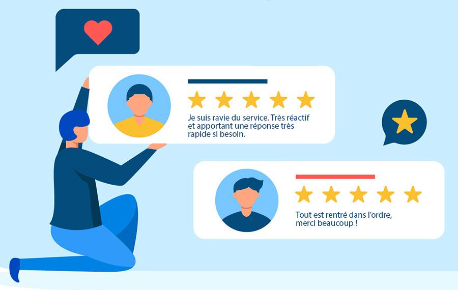 e-réputation modération des avis clients